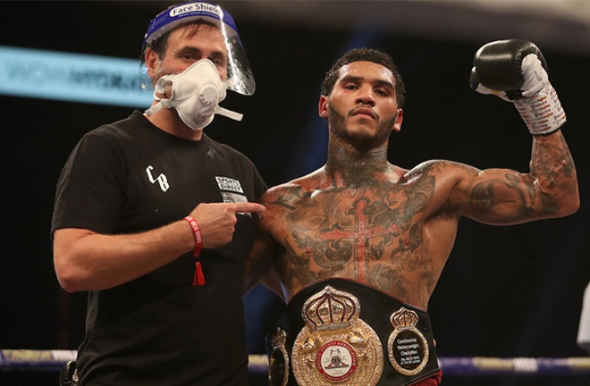 Marku is eager to face now promotional stablemate Conor Benn Photo Credit: Mark Robinson/Matchroom Boxing