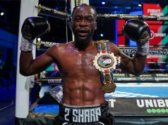Denzel Bentley was crowned the new British Middleweight champion with victory over Mark Heffron at BT Sport Studios on Friday Photo Credit: Round 'N' Bout Media/Queensberry Promotions