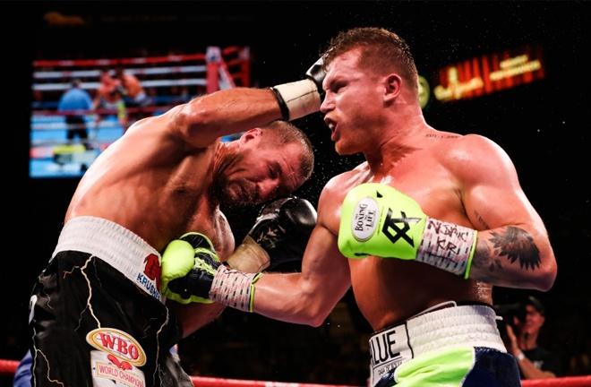Canelo has not fought since stopping Sergey Kovalev Photo Credit: AMANDA WESTCOTT/DAZN