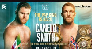 Canelo Alvarez will face WBA 'Super' Super Middleweight world champion Callum Smith on December 19 in Texas