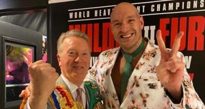 Tyson Fury is set to face Agit Kabayel on December 5, promoter Frank Warren has confirmed Photo Credit: Instagram / @frank_warren_official