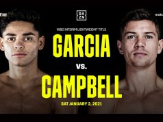 Ryan Garcia and Luke Campbell will finally meet on January 2 on DAZN