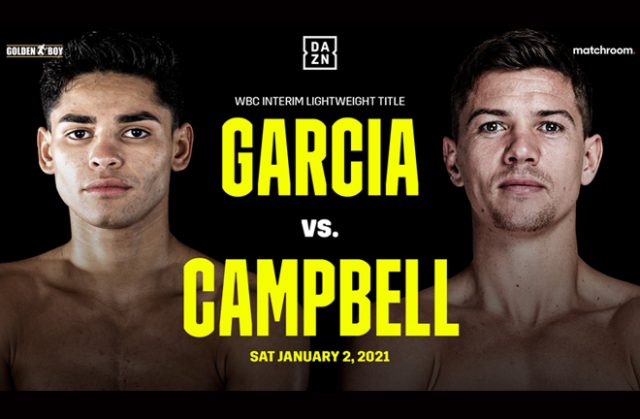 Ryan Garcia and Luke Campbell will finally meet on January 2 on DAZN