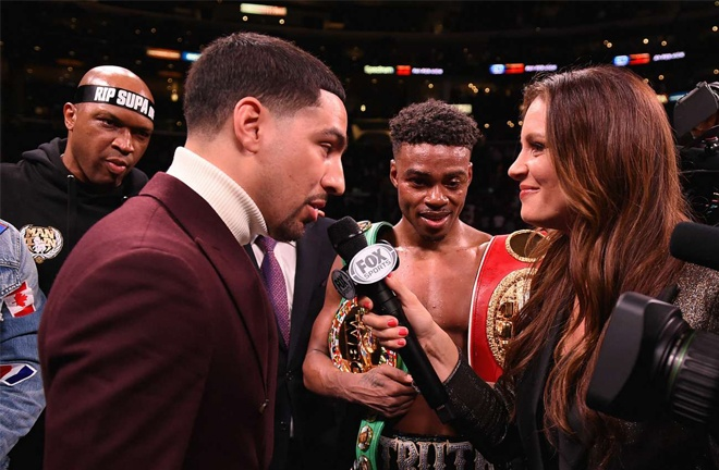 Spence faces former world champion Danny Garcia on December 5 in Texas Photo Credit: Frank Micelotta/FOX Sports