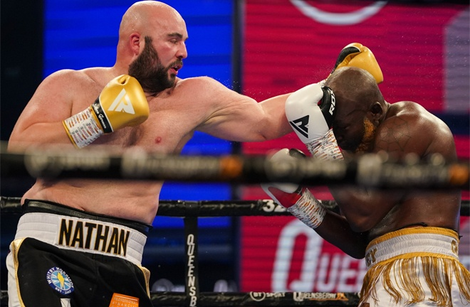 Wardley is eyeing a showdown with Nathan Gorman who beat Lartey on points in October Photo Credit: Round 'N' Bout Media / Queensberry Promotions