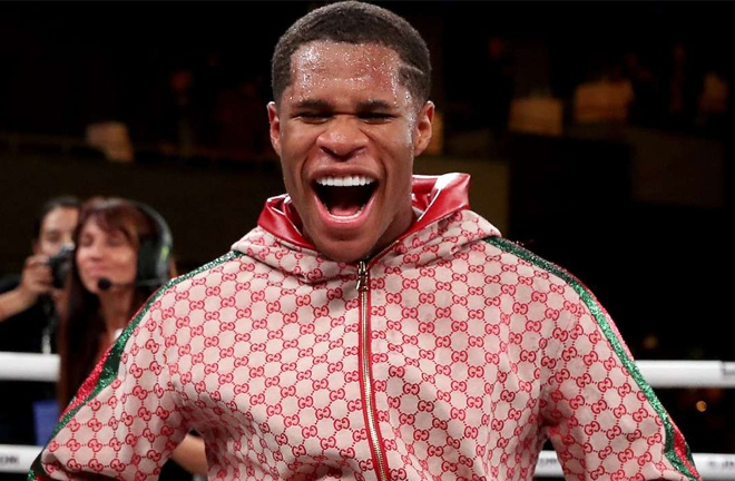 Devin Haney defends his WBC Lightweight title against Yuriorkis Gamboa on Saturday Photo Credit: Ed Mulholland/Matchroom Boxing