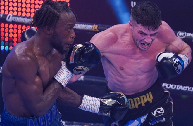 Heffron battled back and felt he won the fight Photo Credit: Round N' Bout Media/Queensberry Promotions