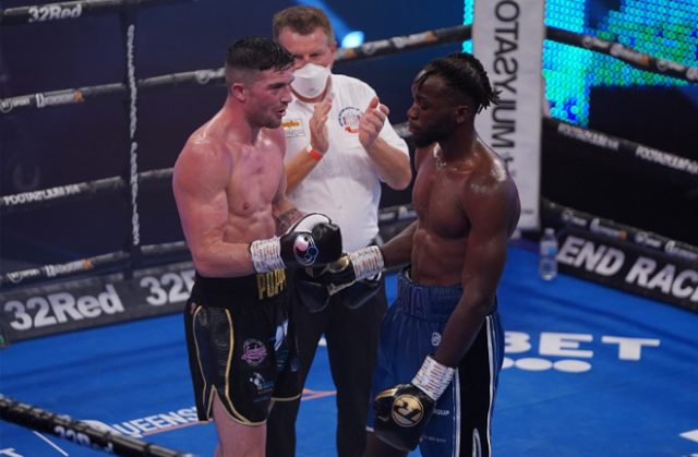 Mark Heffron and Denzel Bentley will run it back for the vacant British middleweight crown on Saturday Photo Credit: Round N' Bout Media/Queensberry Promotions