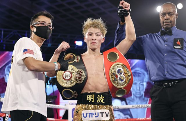 Inoue is keen for a unification next Photo Credit: Mikey Williams/Top Rank