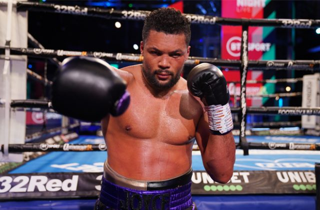 Joe Joyce says his age is not a factor heading into his showdown against Daniel Dubois on November 28 Photo Credit: Round 'N' Bout Media/Queensberry Promotions