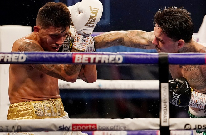 George Kambosos Jr edged past Lee Selby by split decision Photo Credit: Dave Thompson/Matchroom Boxing