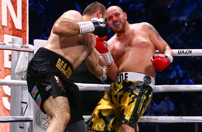 Little was stopped in two rounds by Majidov in Saudi Arabia in December Photo Credit: Dave Thompson/Matchroom Boxing