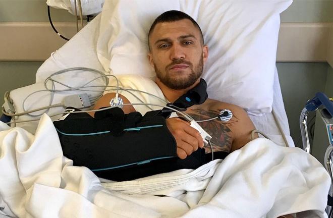 Lomachenko underwent shoulder surgery after defeat to Lopez