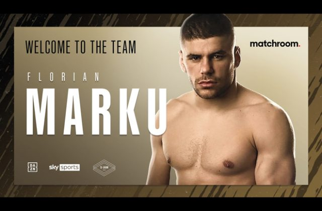 Florian Marku has signed with Matchroom Boxing