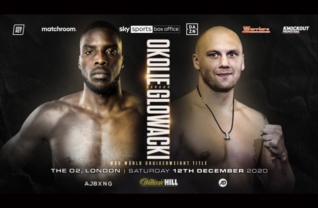 Lawrence Okolie will fight Krzysztof Glowacki for the vacant WBO Cruiserweight world title on December 12 Photo Credit: Matchroom Boxing