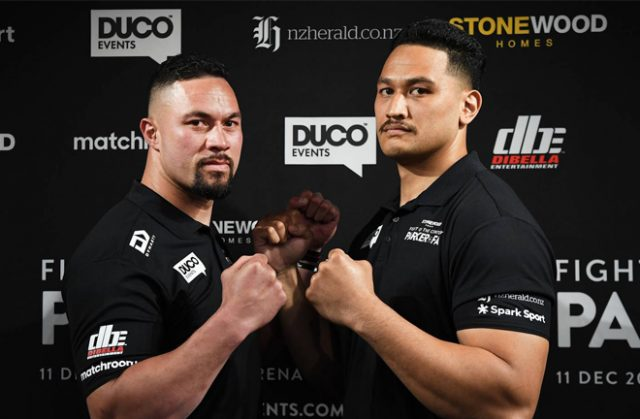 Joseph Parker's clash with Junior Fa has been postponed until 2021 Photo Credit: Photosport