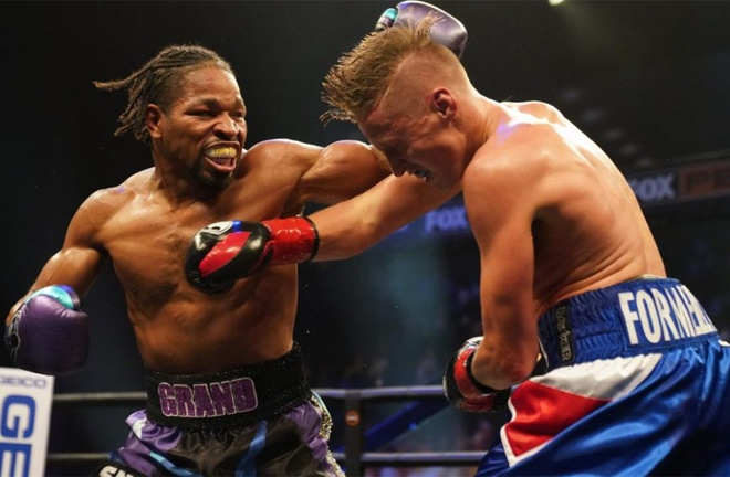 Formella was dominated by former world champion Shawn Porter in August Photo Credit: Sean Michael Ham / TGB Promtions