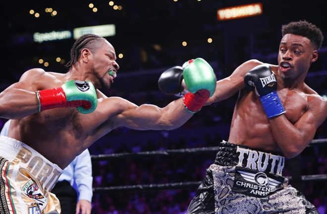 Errol Spence Jr edged Shawn Porter in a thriller last September Photo Credit: Ringo H.W. Chiu / Associated Press