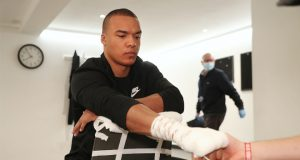 Fabio Wardley has urged the government to provide funding for grassroots boxing Photo Credit: Mark Robinson/Matchroom Boxing