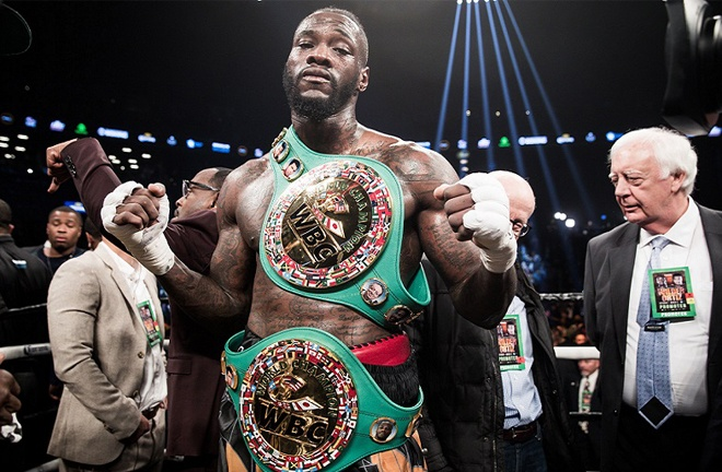 Former WBC world heavyweight champion, Deontay Wilder could prove a key part of the 'Bridger' division Photo Credit: Amanda Westcott