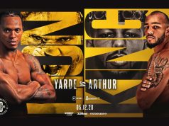 Anthony Yarde meets Lyndon Arthur for the Commonwealth light heavyweight title on December 5 in London