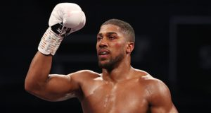 Anthony Joshua could vacate his WBO to secure a showdown with Tyson Fury Photo Credit: Mark Robinson/Matchroom Boxing