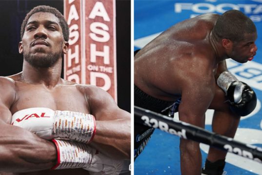 Anthony Joshua says Daniel Dubois is welcome to speak to him following his loss to Joe Joyce Photo Credit: Mark Robinson/Matcrhoom Boxing/Round 'N Bout Media/Queensberry Promotions