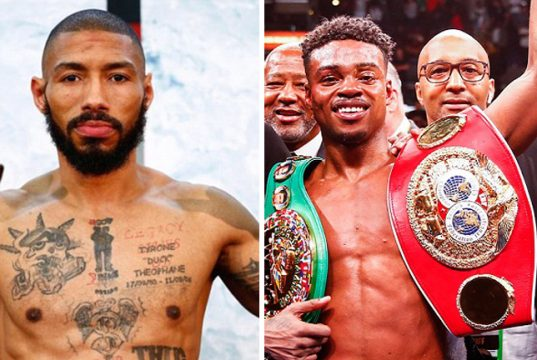 Ashley Theophane says he recognised Errol Spence Jr's potential back in 2013 Photo Credit: Trapp Photos/Mayweather Promo/Stephanie Trapp