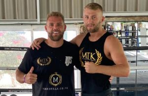 Lewie Edmondson has been tipped to become a world champion by his manager Billy Joe Saunders