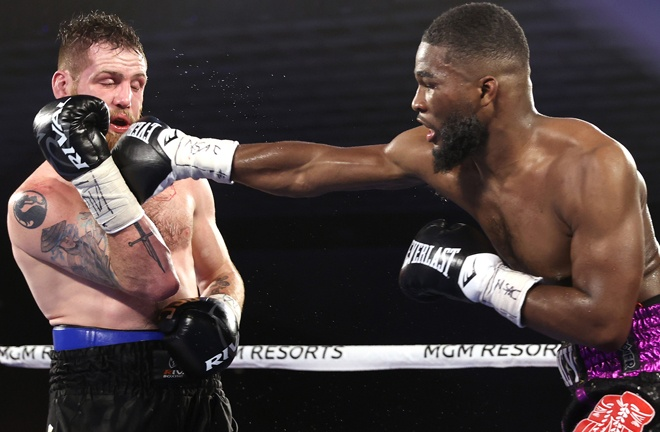 Quincy LaVallais won his rematch against Clay Collard by unanimous decision Photo Credit: Mikey Williams/Top Rank via Getty Images