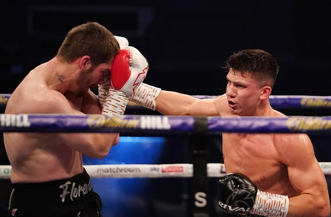 Kieron Conway dominated proceedings against Macaulay McGowan Photo Credit: Dave Thompson/Matchroom Boxing