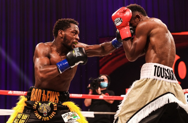 Conwell stopped Wendy Toussaint in the ninth round in October Photo Credit: Amanda Westcott