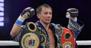 Gennady Golovkin defended his IBF and IBO Middleweight world titles with a seventh round stoppage win over Kamil Szeremeta in Florida on Friday Photo Credit: Melina Pizano/Matchroom Boxing