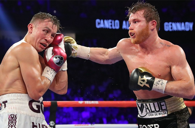Golovkin and Canelo could be set to meet for a third time Photo Credit: Tom Hogan / Hogan Photos / Golden Boy Promotions
