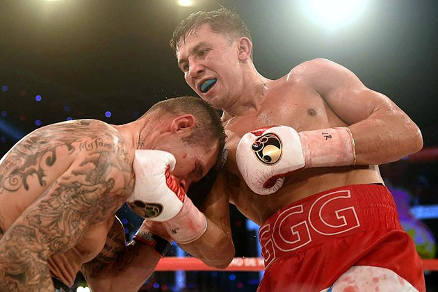 Murray was stopped by Gennady Golovkin in 2015 Photo Credit: Christian Kuechl
