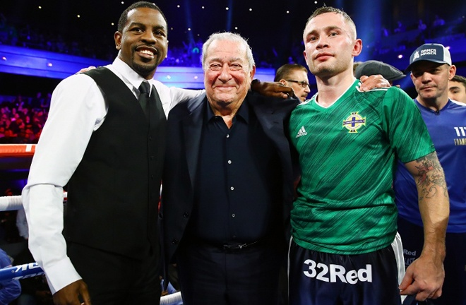 Stevenson is mandatory challenger to WBO champion Jamel Herring who is set to face Carl Frampton in 2021 Photo Credit: Mikey Williams/Top Rank