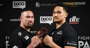 Joseph Parker will face Junior Fa on February 27 in Auckland Photo Credit: Photosport