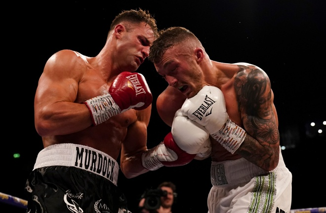 Parker stopped Rohan Murdock in March Photo Credit: Mark Robinson/Matchroom Boxing