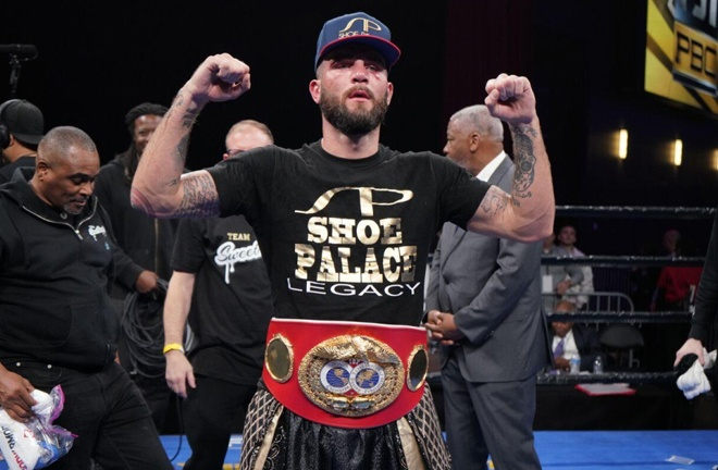 IBF champion Caleb Plant is another unification option for Canelo Photo Credit: LUIS MEJIA/TGB PROMOTIONS