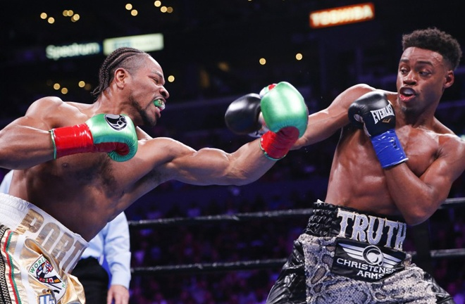 Spence and Porter shared an epic battle last September Photo Credit: Ringo H.W. Chiu / Associated Press