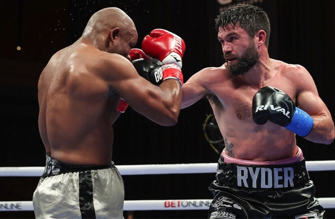 John Ryder comfortably saw off Mike Guy Photo Credit: Melina Pizano/Matchroom Boxing