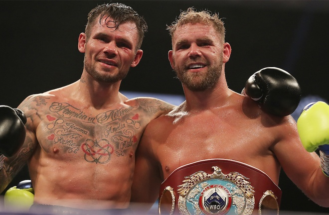 Saunders defended his WBO Super Middleweight title against Martin Murray earlier this month Photo Credit: Mark Robinson/Matchroom Boxing
