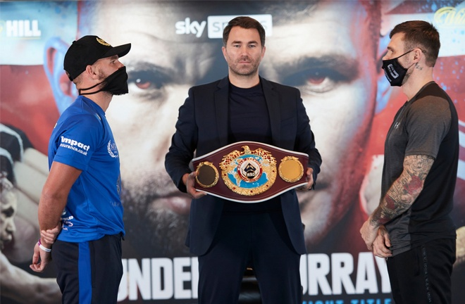 Billy Joe Saunders defends his WBO world title against Martin Murray on Friday Photo Credit: Mark Robinson/Matchroom Boxing