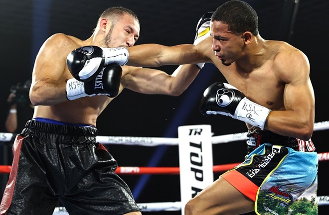 Felix Verdejo stopped Will Madera inside a round in July Photo Credit: Mikey Williams/Top Rank