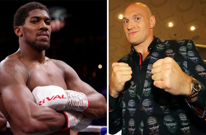 Anthony Joshua and Tyson Fury are edging closer to a showdown Photo Credit: Press Association/Mikey Williams/Top Rank