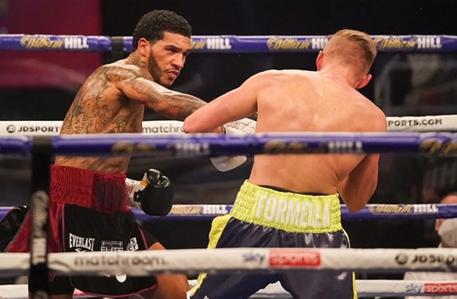 Tomlinson was impressed with Conor Benn's victory over Sebastian Formella in November Photo Credit: Dave Thompson/Matchroom Boxing