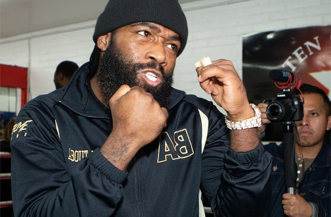 Adrien Broner is set to return on February 13 Photo Credit: Esther Lin/SHOWTIME