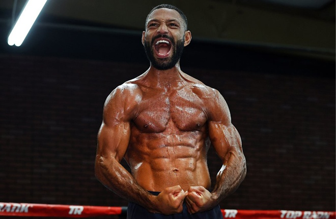 Brook has vowed to knock out Amir Khan if the pair meet this year Photo Credit: Mikey Williams/Top Rank