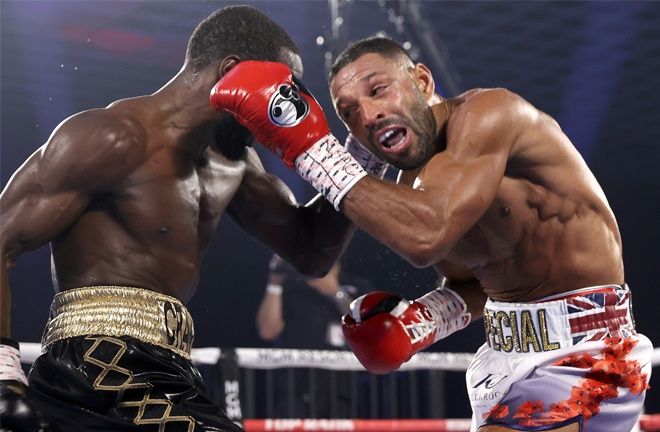 Brook was beaten in four rounds by WBO Welterweight champion Terence Crawford in November Photo Credit: Mikey Williams/Top Rank via Getty Images