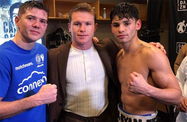Luke Campbell (L) has backed Ryan Garcia (R) to beat Devin Haney Photo Credit: @luke11campbell Twitter